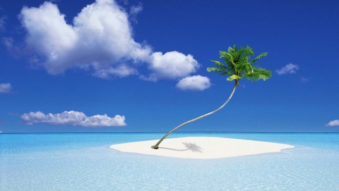 Beach Themed Wallpaper 660x371