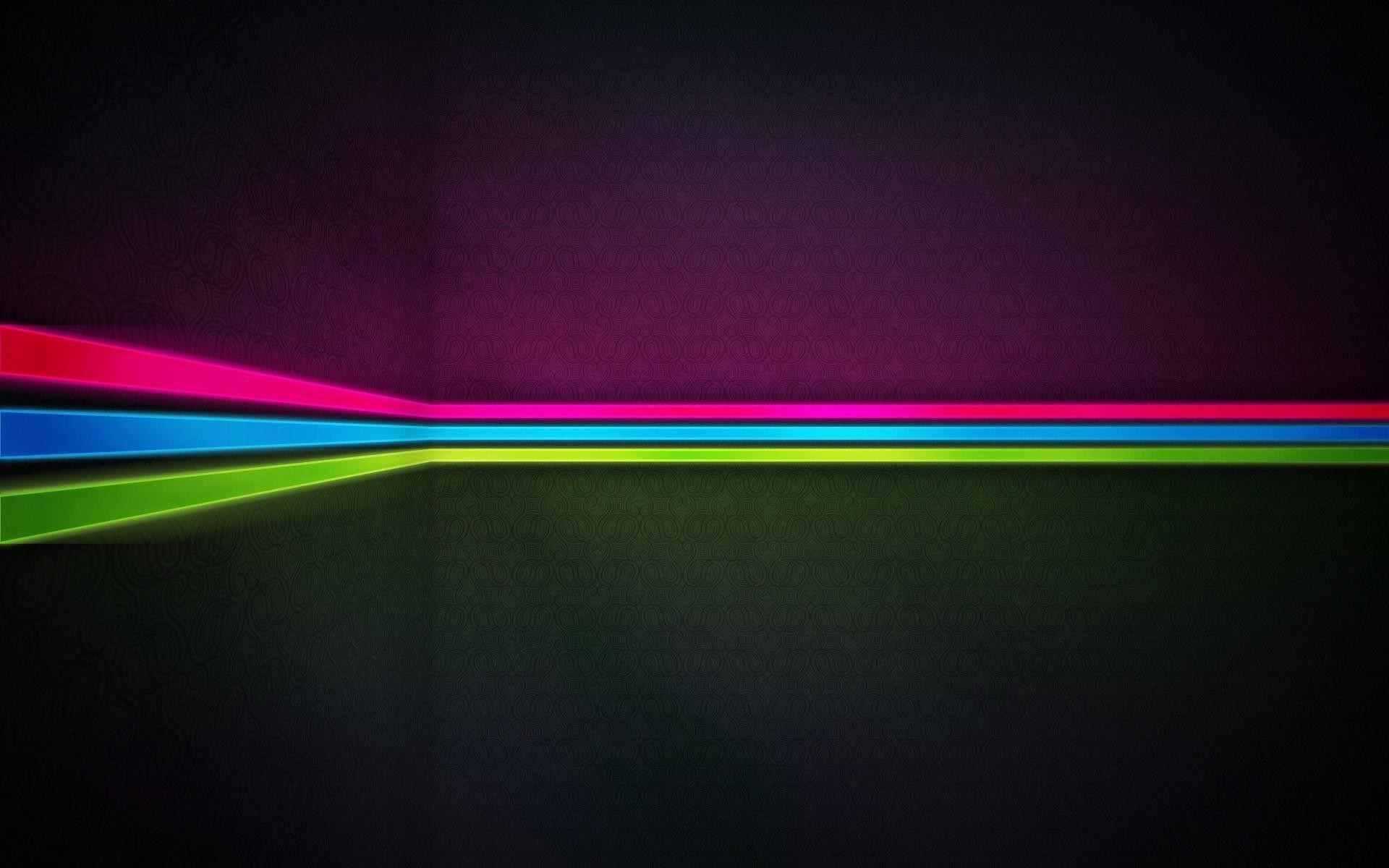 Neon stripes wallpaper Wallpaper Wide HD 1920x1200