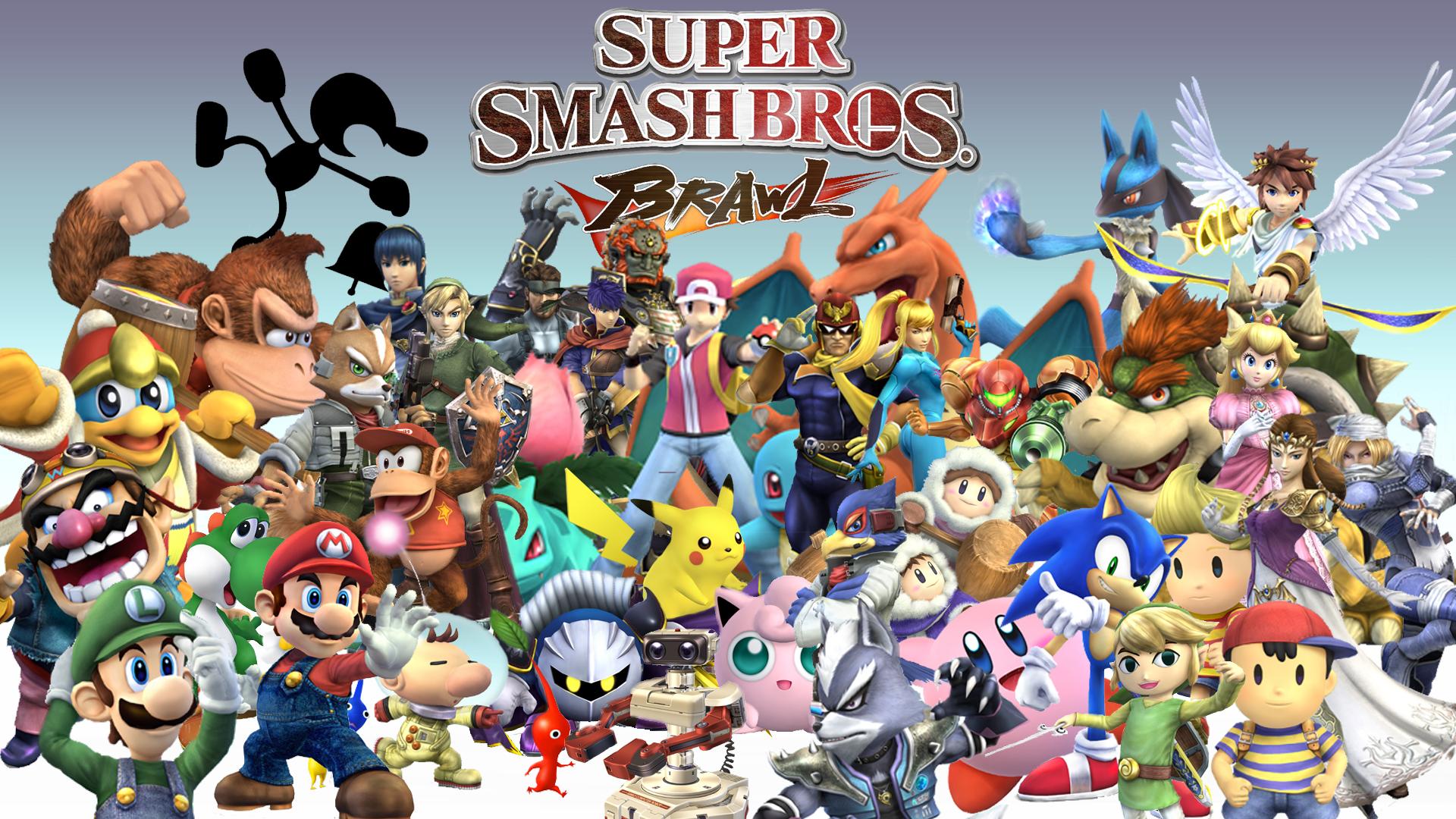 <b>Super Smash Bros Wallpaper</b>