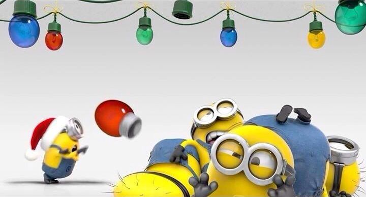 Holiday Minions Minions holiday banner 720x388