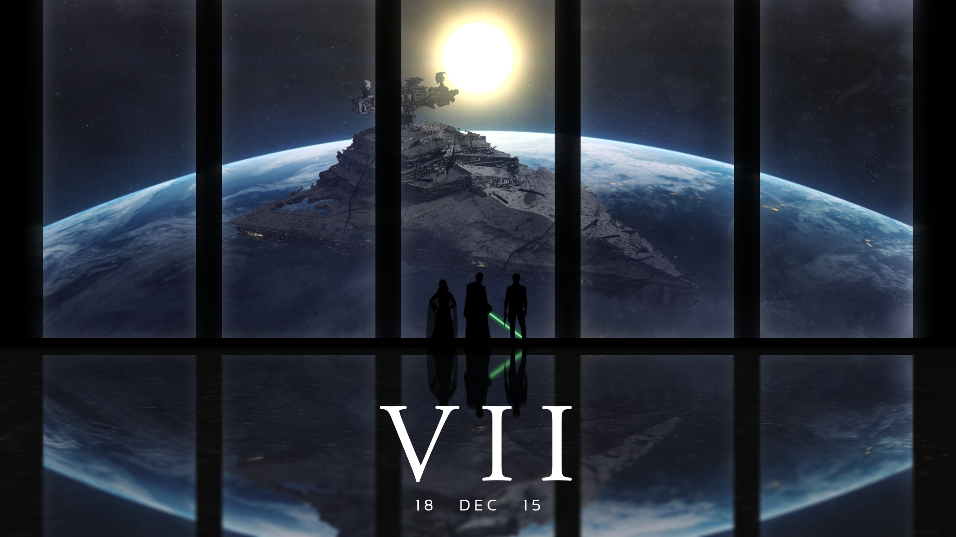Episode VII Wallpaper [OC]   What do you guys think StarWars 1920x1080