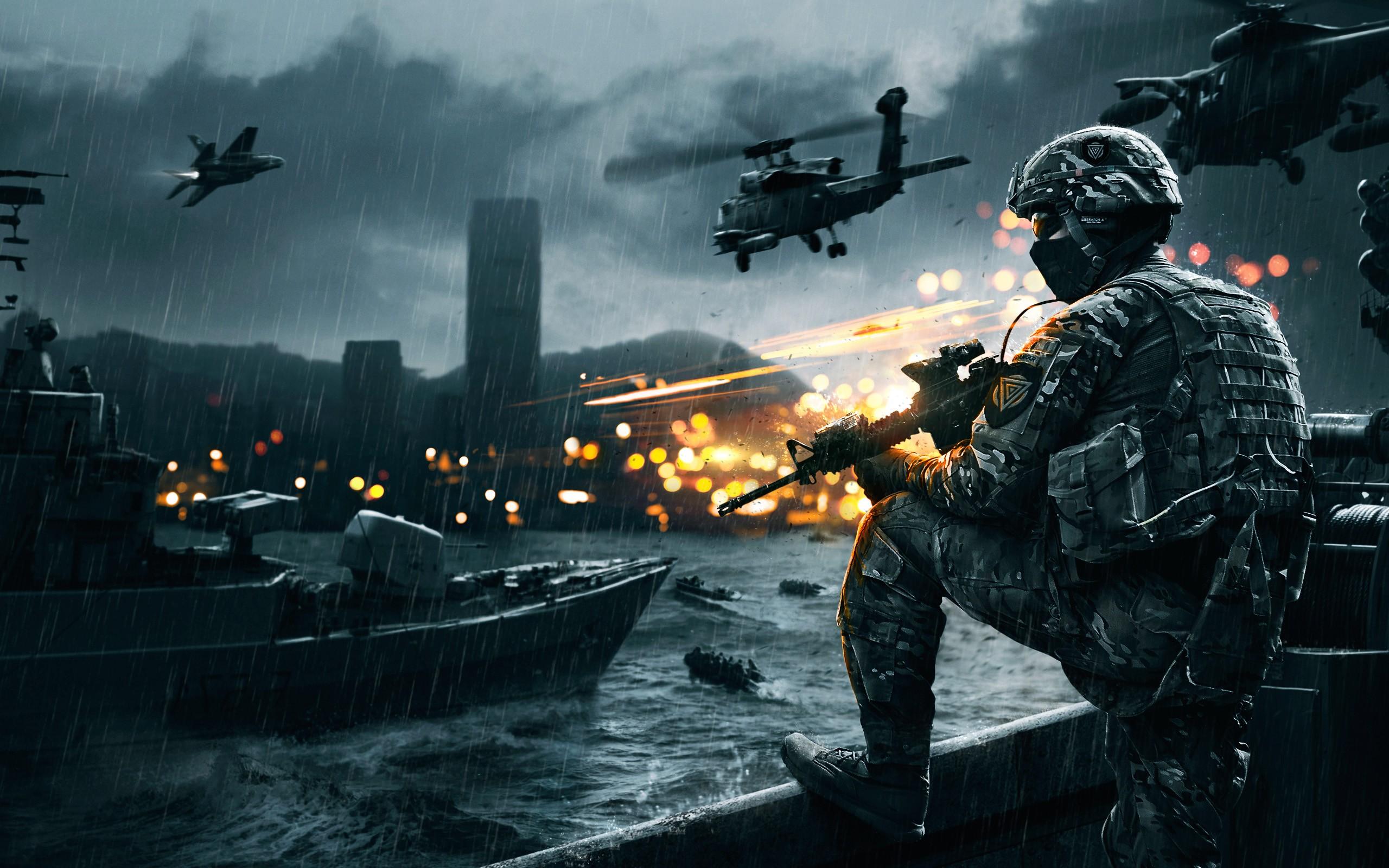 Battlefield 4 Siege of Shanghai Wallpapers HD Wallpapers 2560x1600
