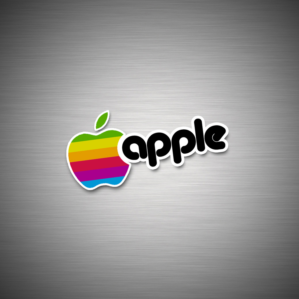 iPad Wallpapers High resolution apple logo 4   Apple iPad iPad 2 1024x1024