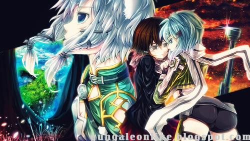 Sinon Mobile Wallpaper Gun Gale Online Anime Mobile Wallpaper HD 500x281