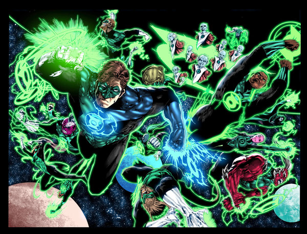 Green Lantern Corps Wallpaper Green lantern corps by 600x458