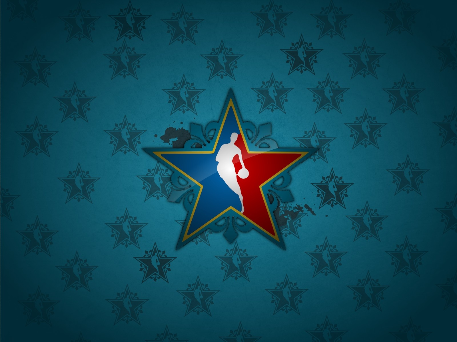 NBA Wallpaper Star Logo #4235831, 1600x1200 | All For Desktop