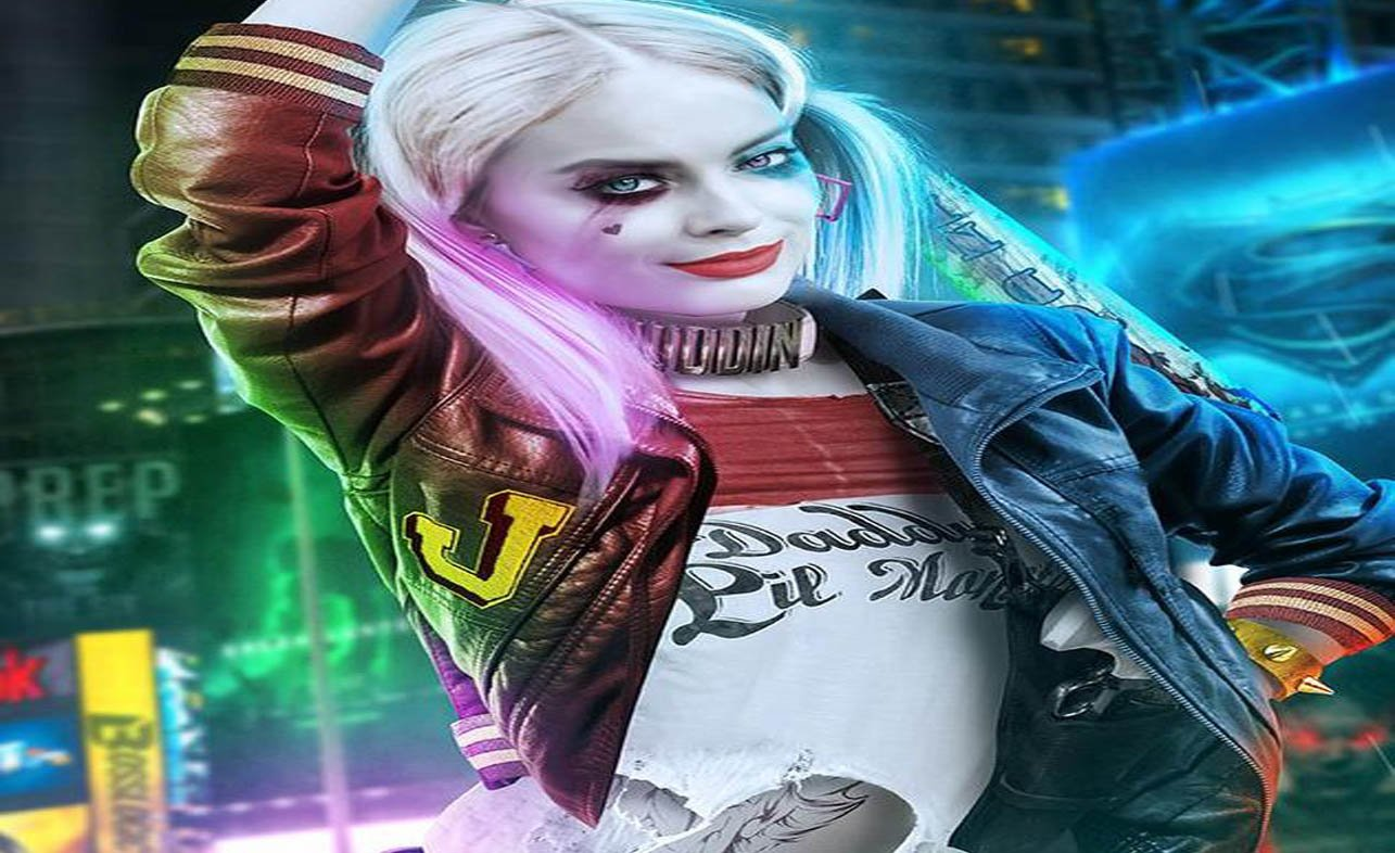 Download Margot Robbie As Harley Quinn Suicide Squad HD Wallpaper 1285x786