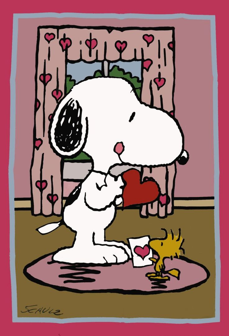 Snoopy VALENTINES DAY Flag 736x1082