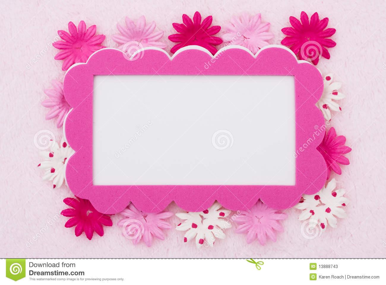 Pink Floral Wallpaper Border Wallpapersafari