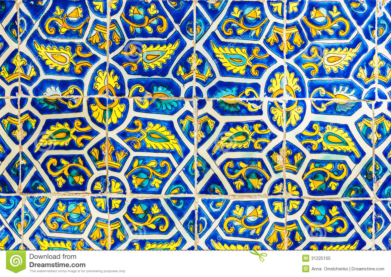 Ceramic Tile Murals For Kitchen Backsplash Mexican Tile Wallpaper Wallpapersafari