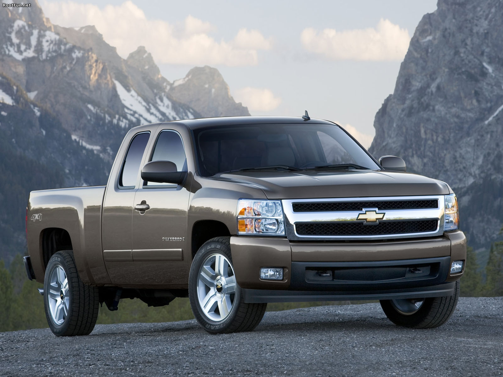 Chevy Silverado Wallpaper WallpaperSafari  Best Cool