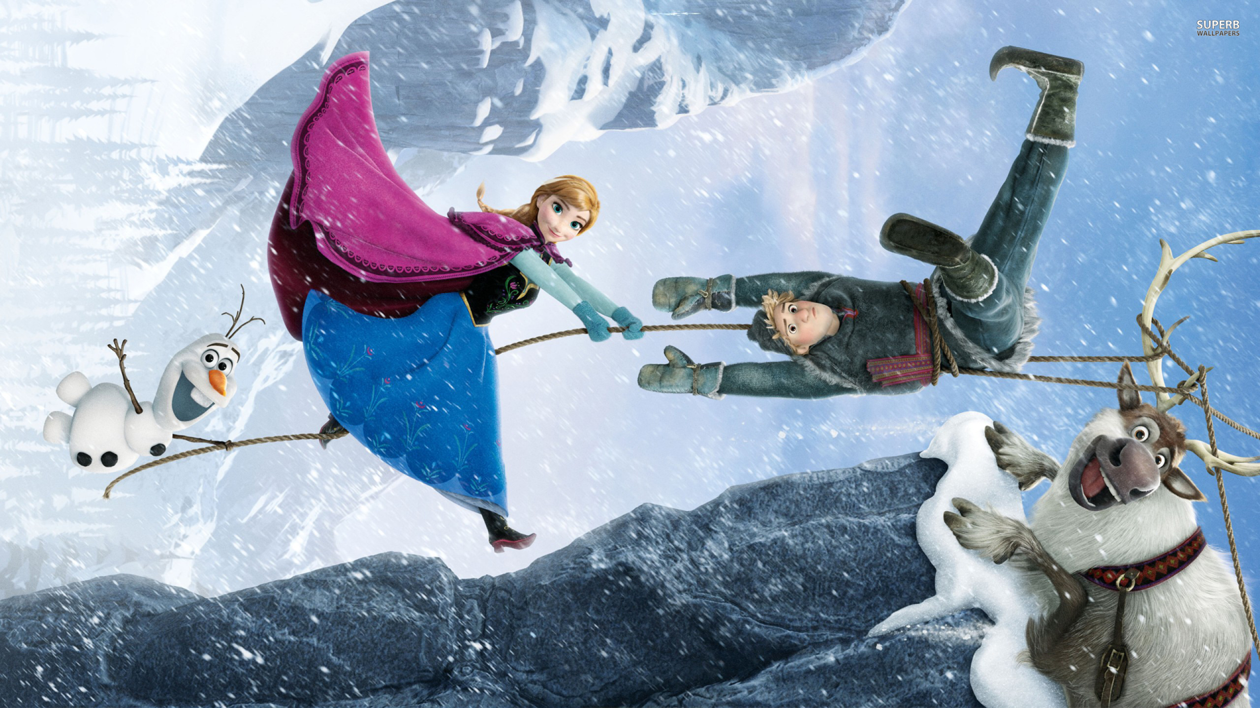 Frozen moment from movie wallpapers and images   wallpapers pictures 2560x1440