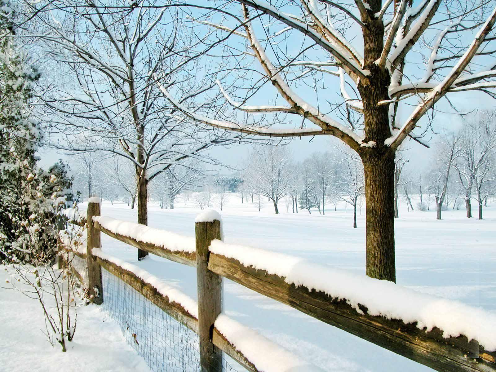 HD Wallpapers Winter Scenes for Desktop 1600x1200