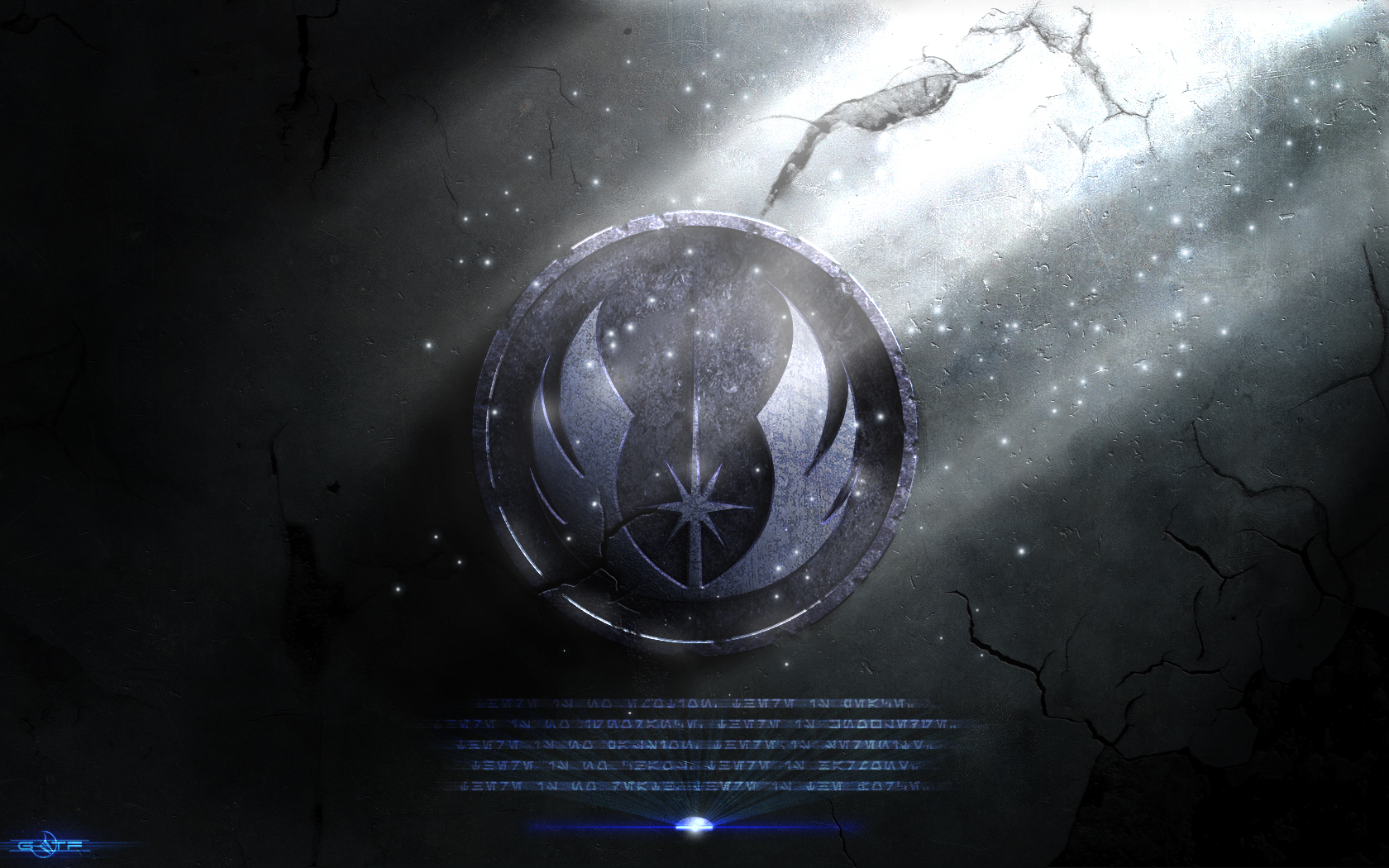 Jedi Logo Wallpaper Hd This was my desktop for 1680x1050