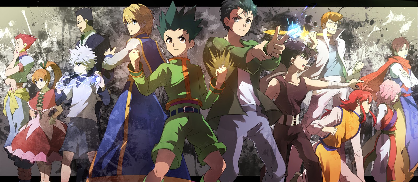 Free Download Hunter X Hunter Yu Yu Hakusho Anime Cross Over Hd