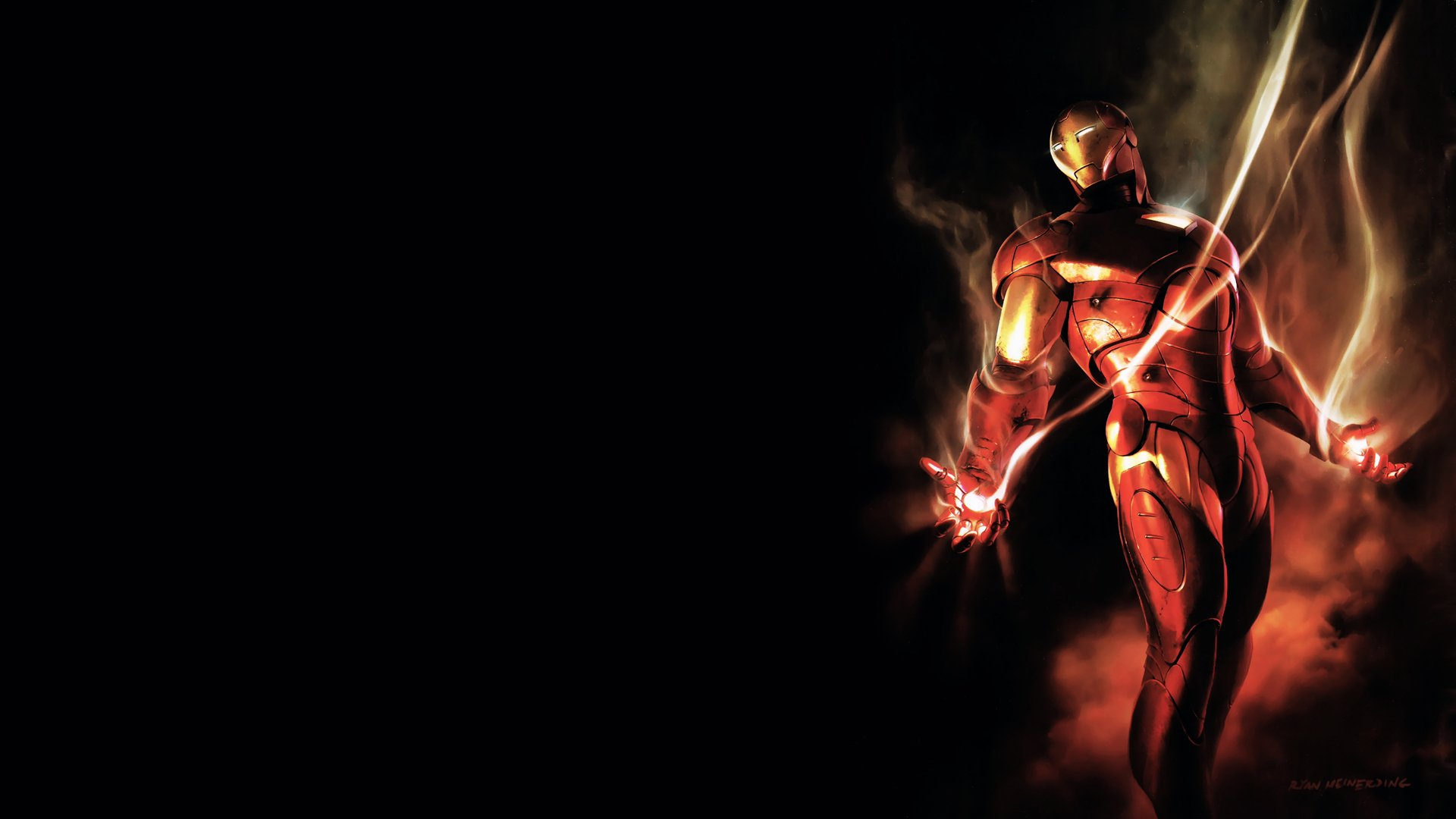 35 Iron Man Hd Wallpapers For Desktop: HD Wallpapers 1080p Marvel