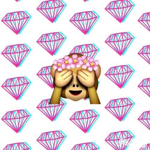 cute emojis background Tumblr 500x500