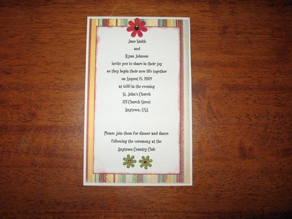 Make Your Own Wedding Invitation Learn How To Make Your Own Wedding 600x450