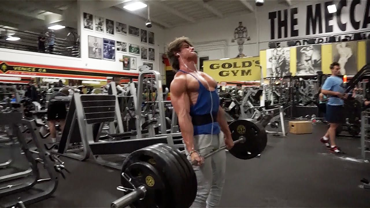 Chest and Back Arnold Style Workout at the Mecca Golds Gym Venice 1280x720