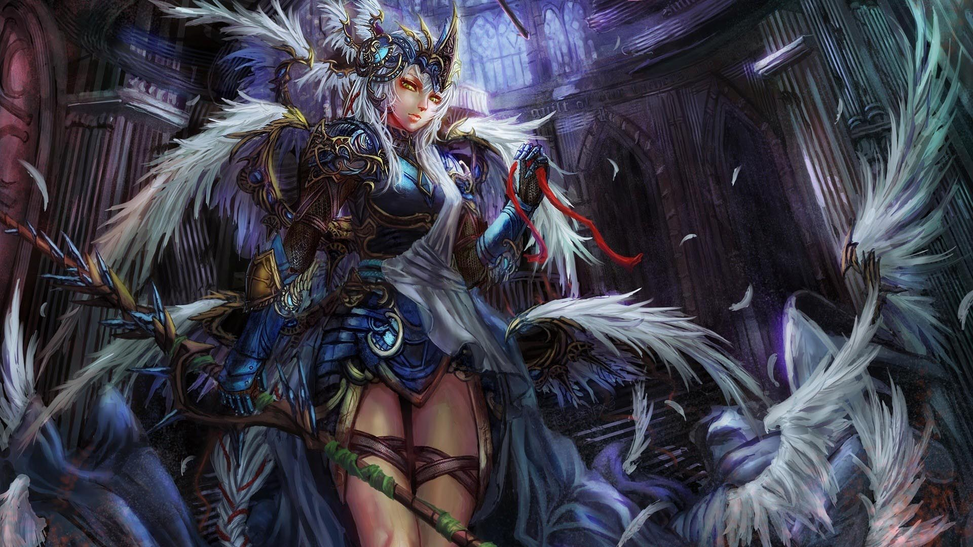 46+ Anime Girl Warrior Wallpaper on WallpaperSafari