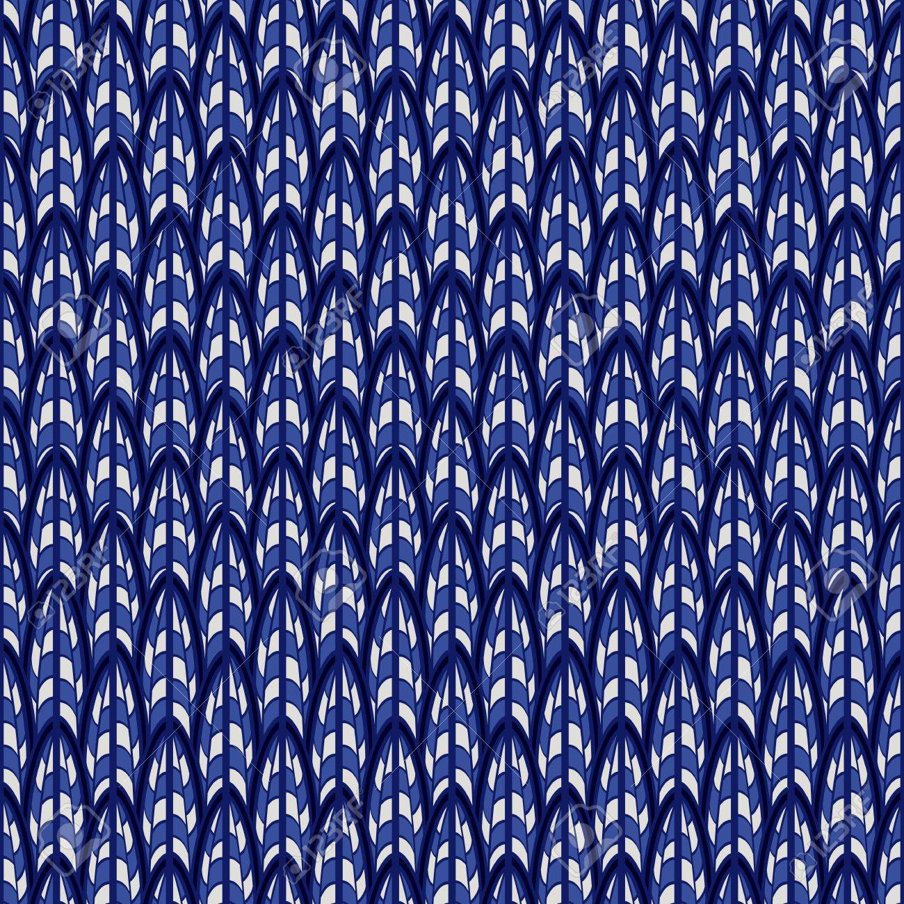 Abstract Blue Seamless Pattern The Continuing Ornament Can Be 1300x1300