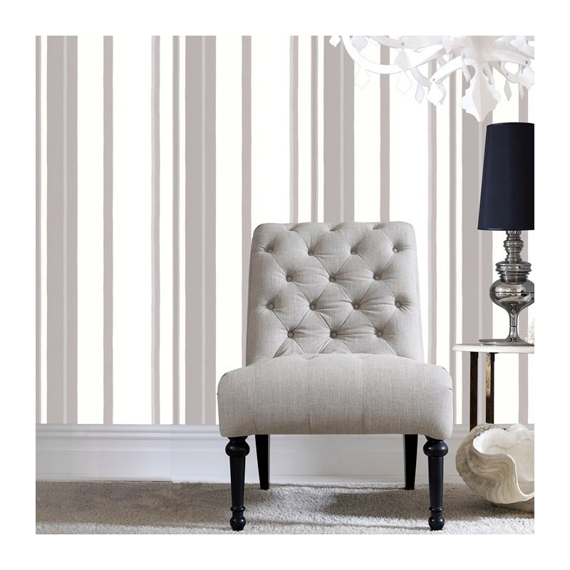 Grey and White Stripe Wallpaper Striped 32 337 Fabric Style Wallpaper 800x800
