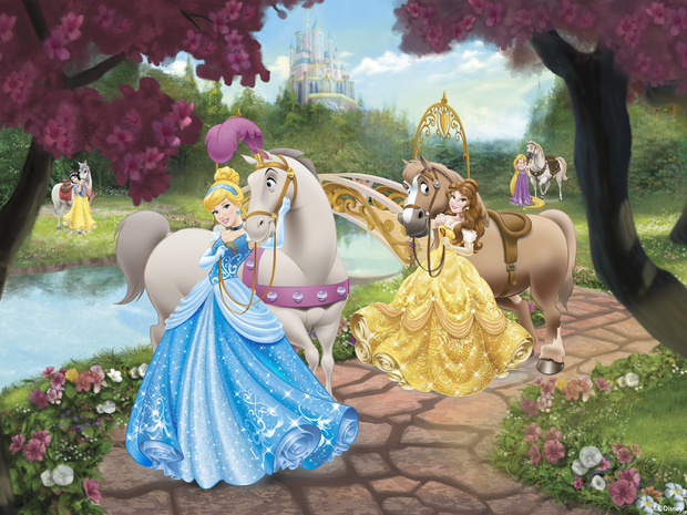 Disney Princess   Horses 620x465