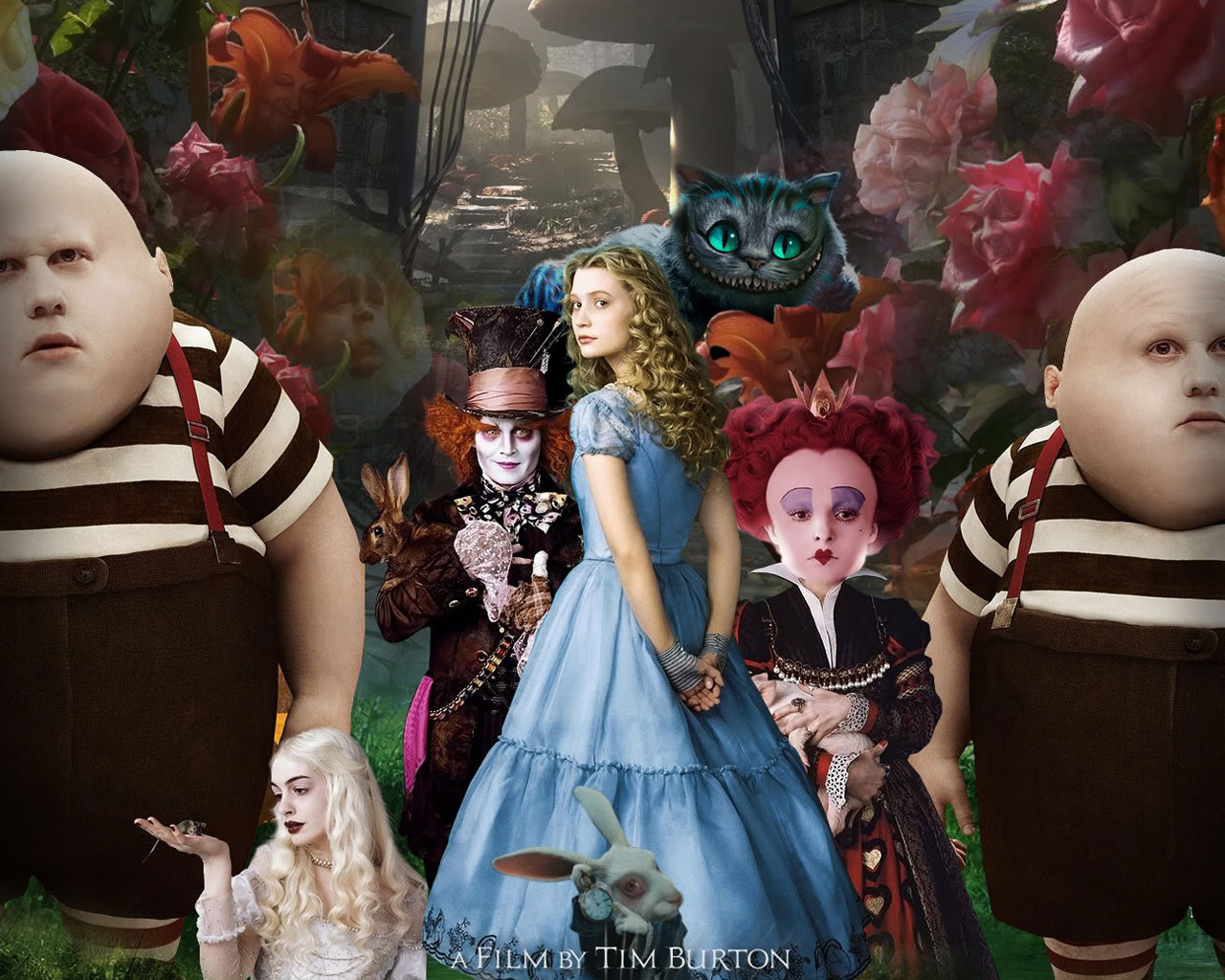 Characters Alice In Wonderland Quotes QuotesGram 1280x1024