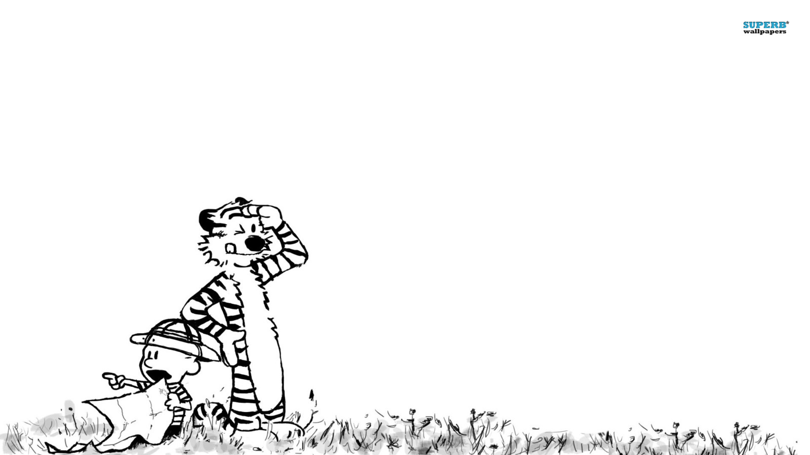 Calvin Hobbes images Calvin and Hobbes HD wallpaper and 1600x900