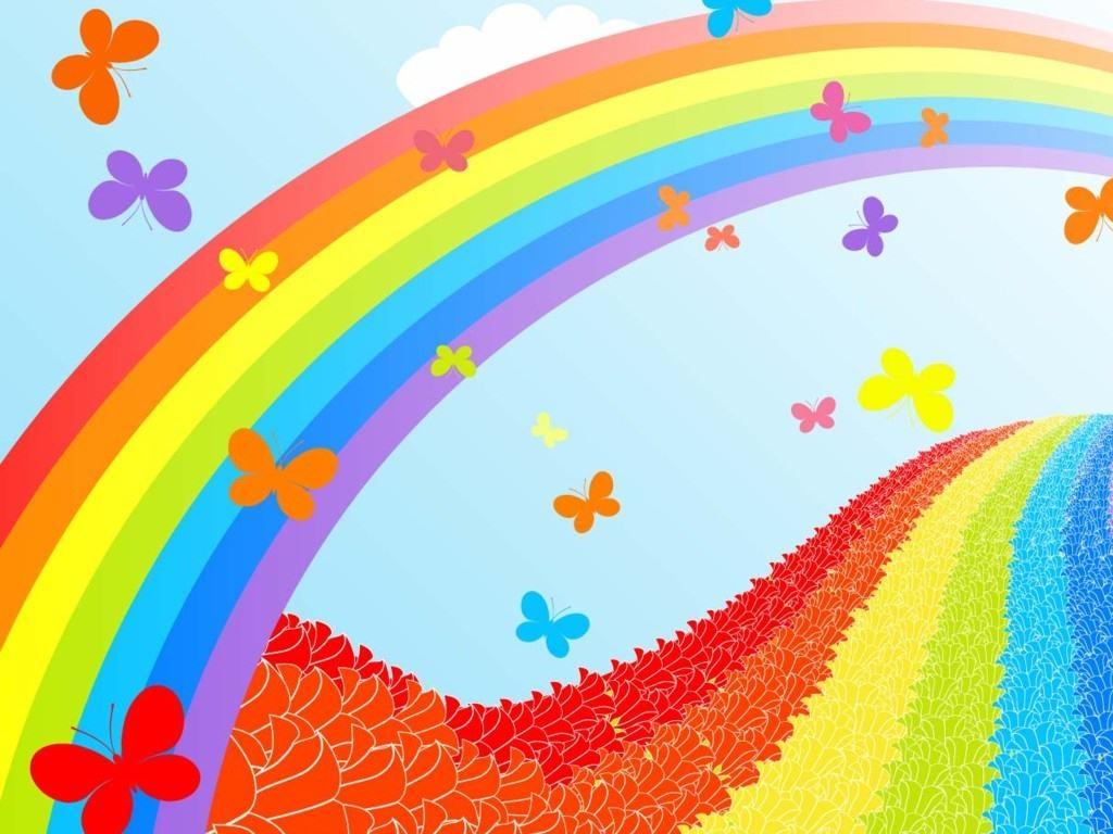 Цветной мир открытки, день