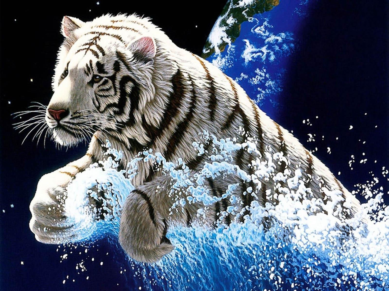 the Tiger 3D Wallpapers Tiger 3D Desktop Wallpapers Tiger 3D Desktop 1600x1200