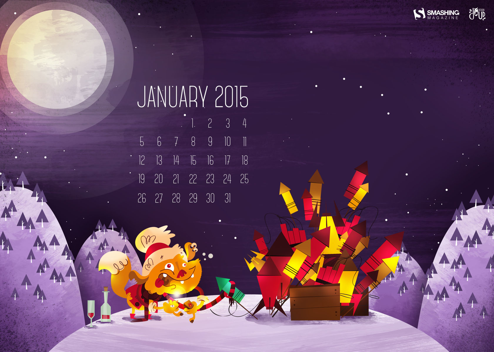Desktop Wallpaper Calendars January 2015 Smashing Magazine 1680x1200