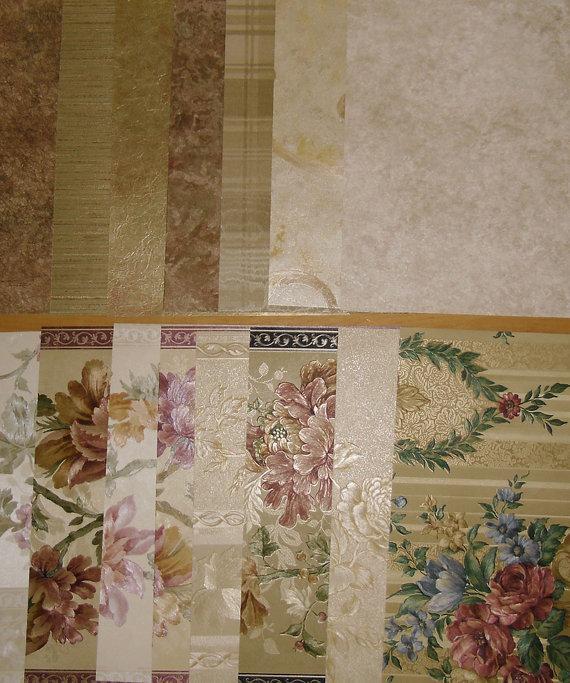 Designer Wallpaper Samples   Wall Quilts Scrapbooking Crafting Art 570x683