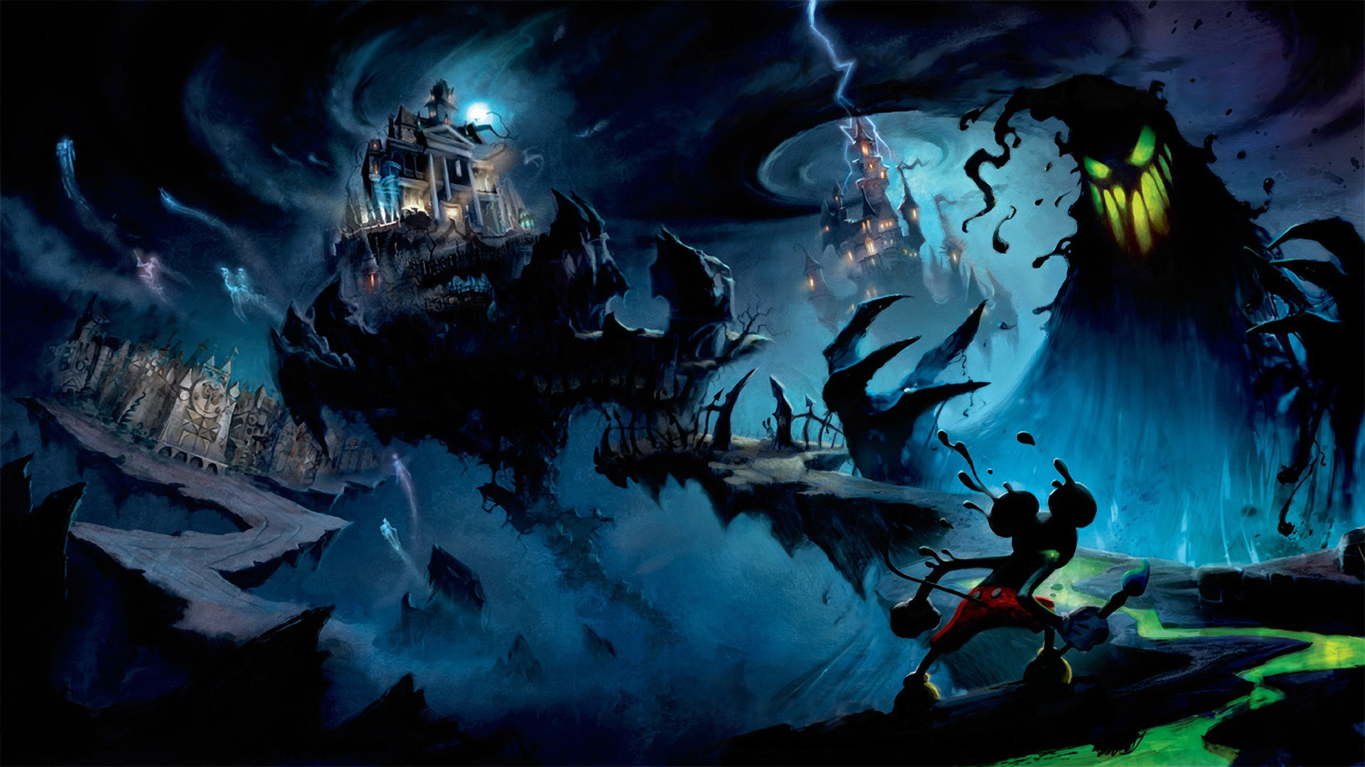 Disney Epic Mickey Wallpapers in HD 1920x1080