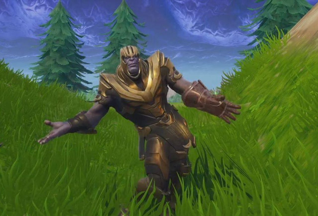 Free Download Lets Watch Thanos Do Some Dance Emotes In