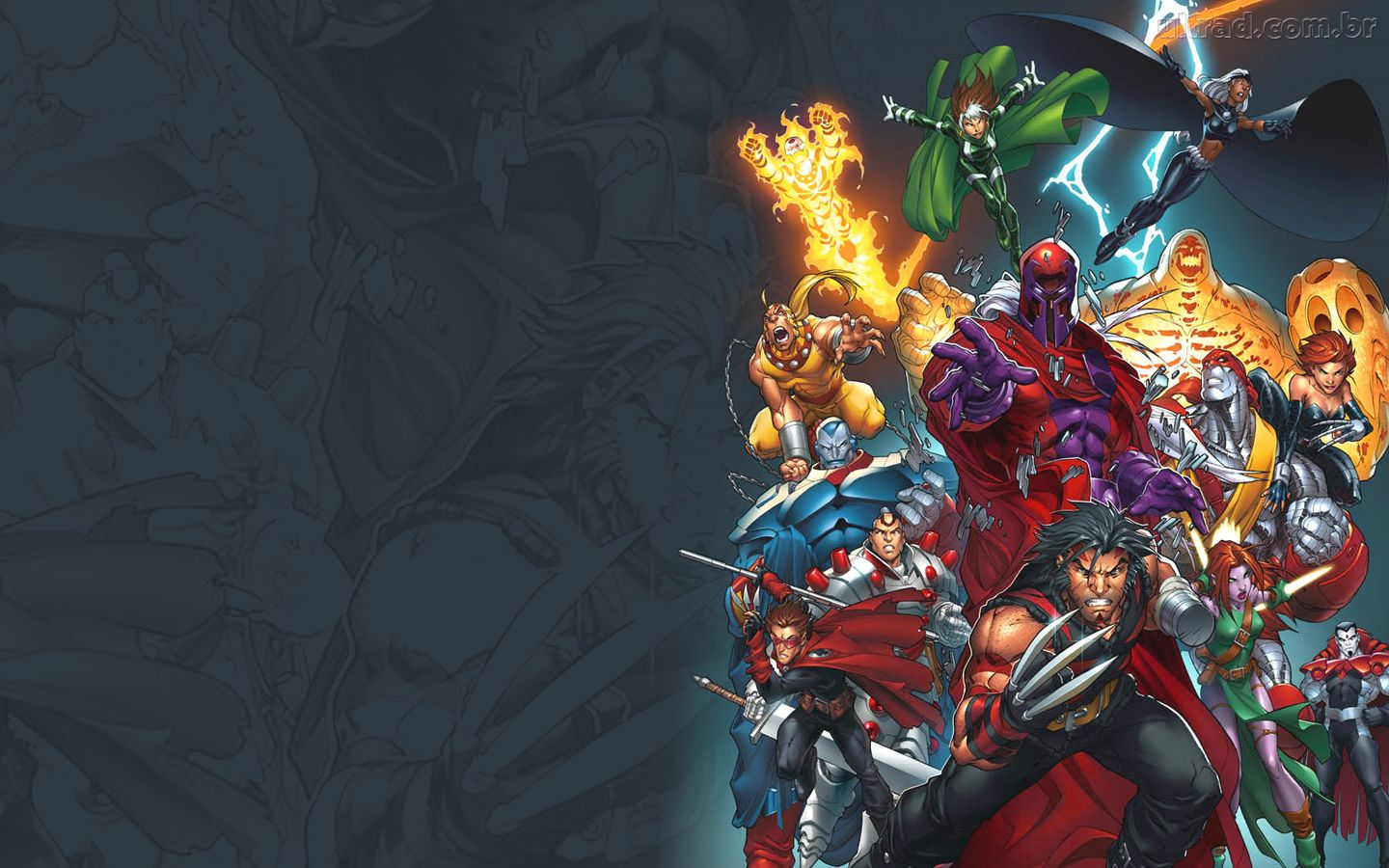 Papel de Parede X Men   Era do Apocalipse 1440x900