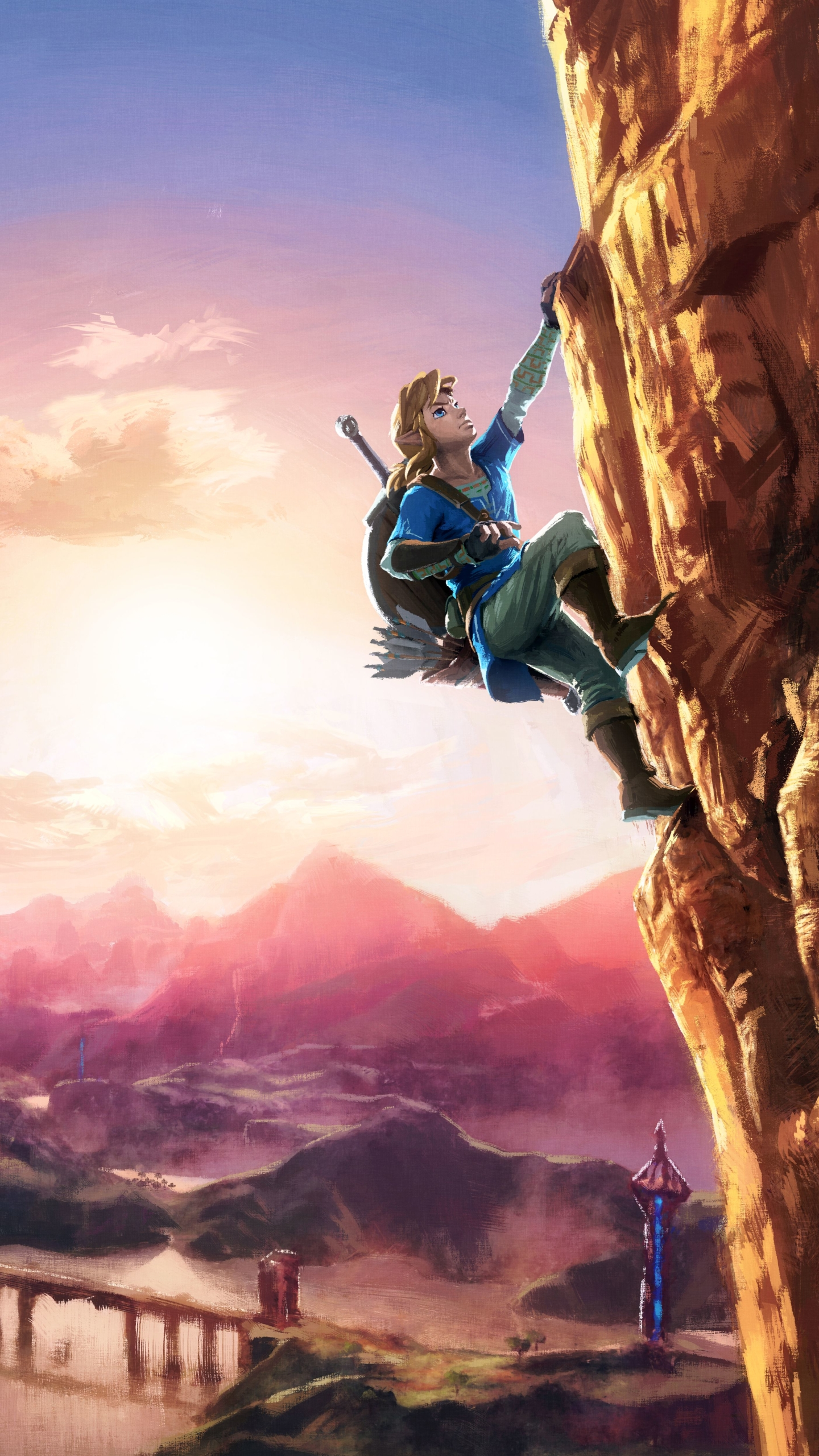 Zendha Legend Of Zelda Botw Iphone Wallpaper