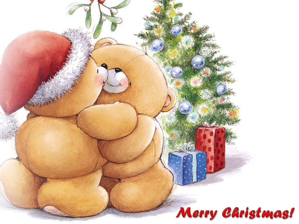 Cute Cartoon Christmas Wallpaper 9848 Hd Wallpapers in Celebrations 1024x768