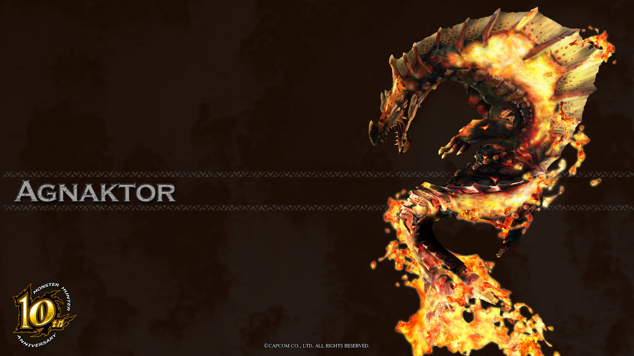 monster hunter 10th anniversary wallpaper wallpapersafari