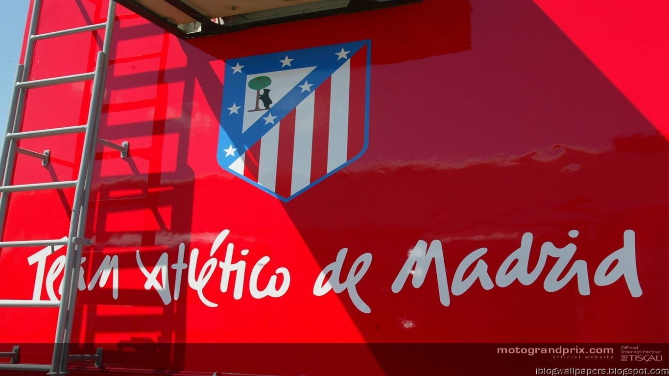 Atletico Madrid Logo Walpapers HD Collection 1366x768