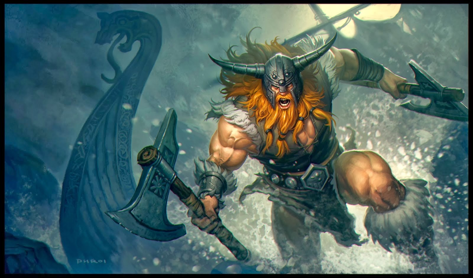 Olaf League of Legends Wallpaper Olaf Desktop Wallpaper 1600x940