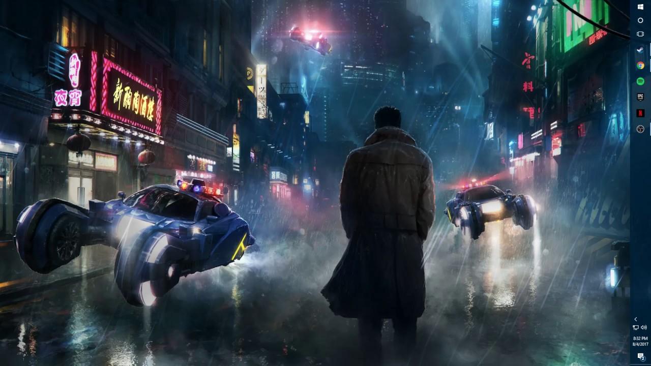 Free Download Blade Runner On Wallpaper Engine 1280x720