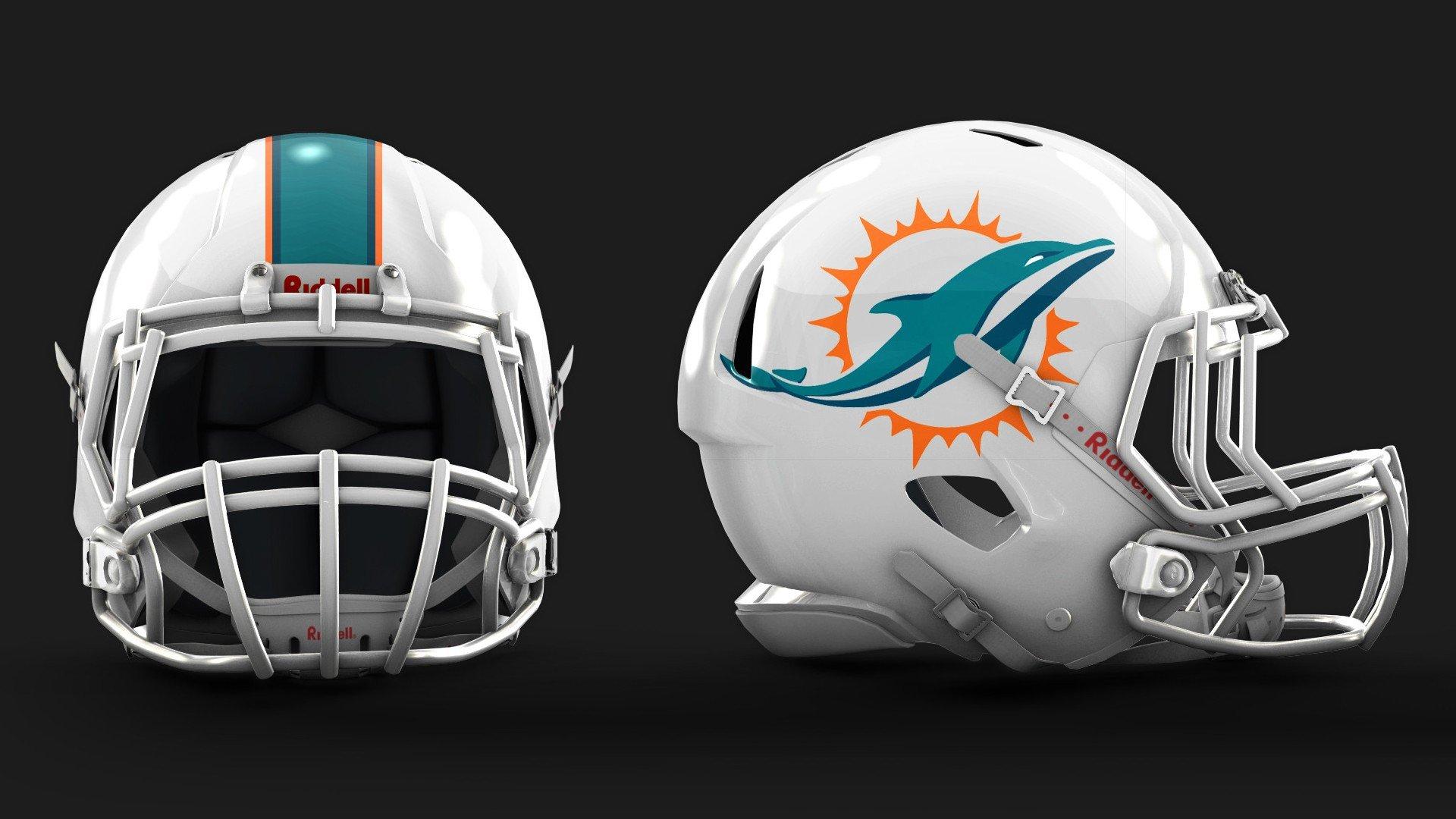 Miami Dolphins 2013 New Logo and Helmet NFL Helmets Pinterest 1920x1080