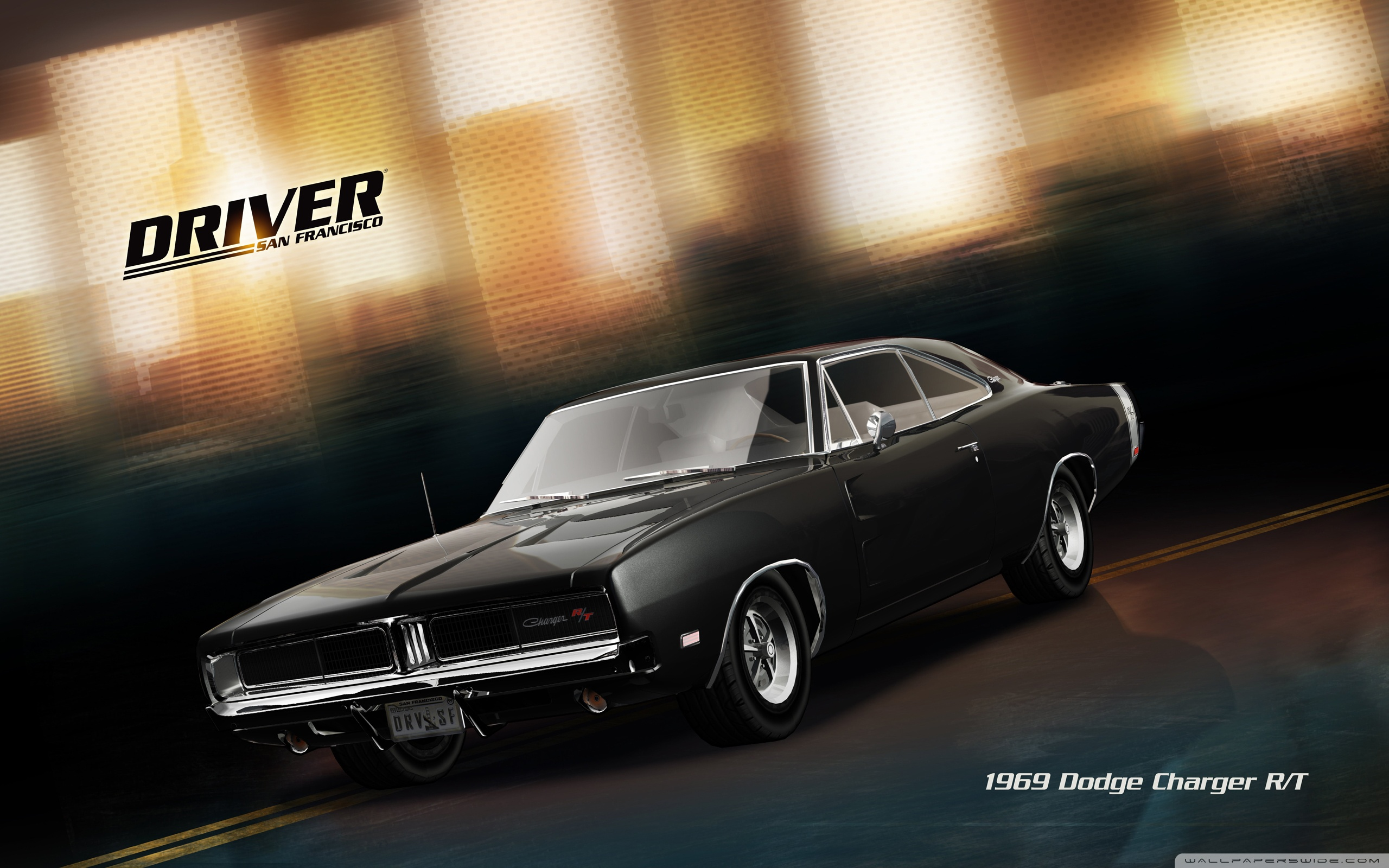 Driver San Francisco 1920 Dodge Charger RT 4K HD Desktop 2560x1600