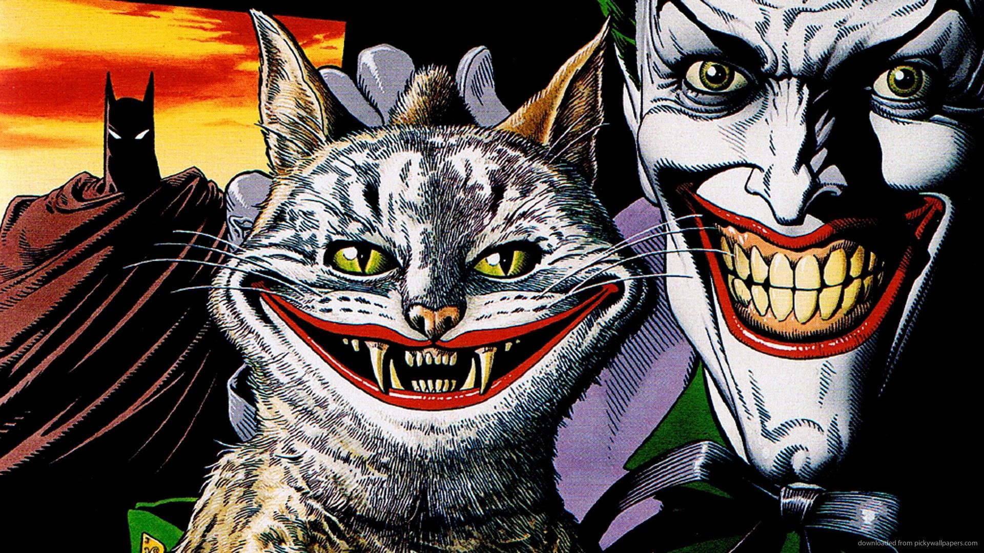Joker Comic Wallpaper 1920x1080