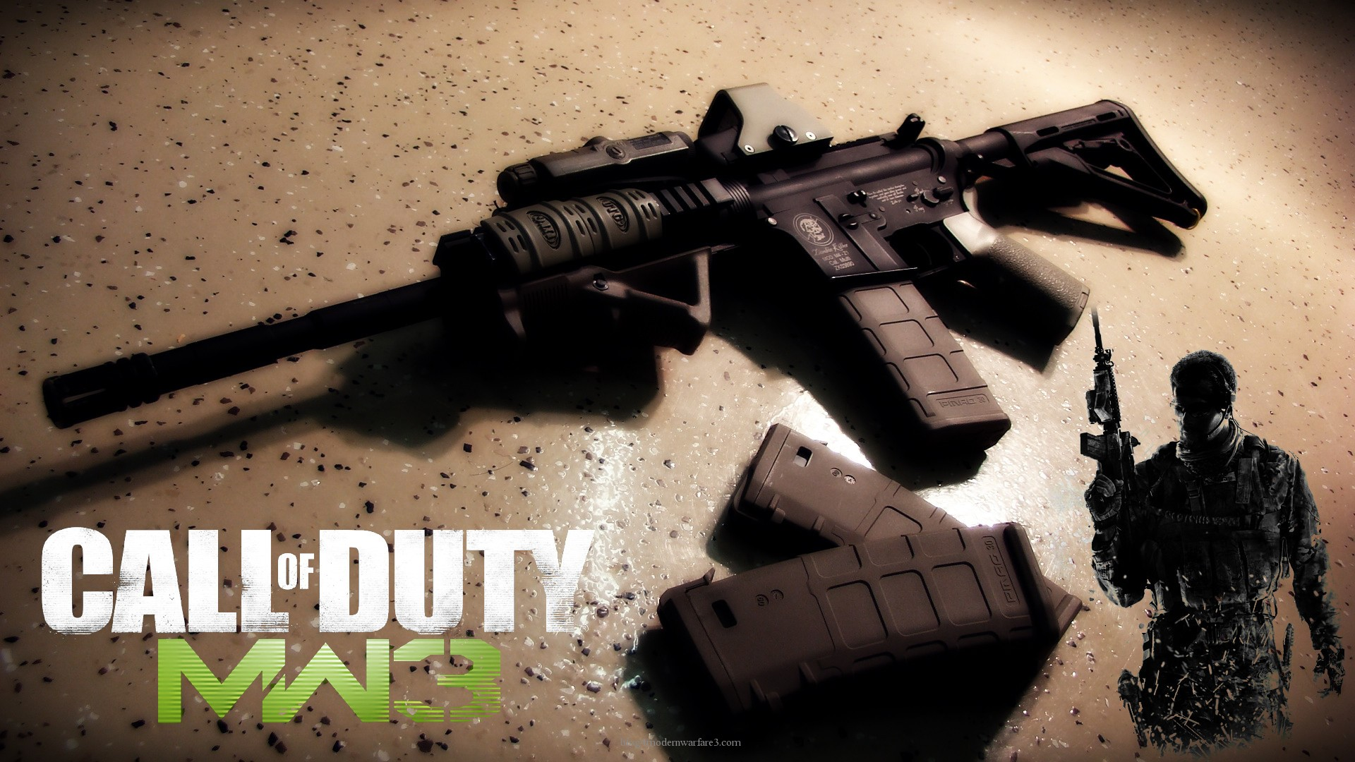 Call Of Duty Modern Warfare 3 HD Wallpaper Games Wallpapers 1920x1080