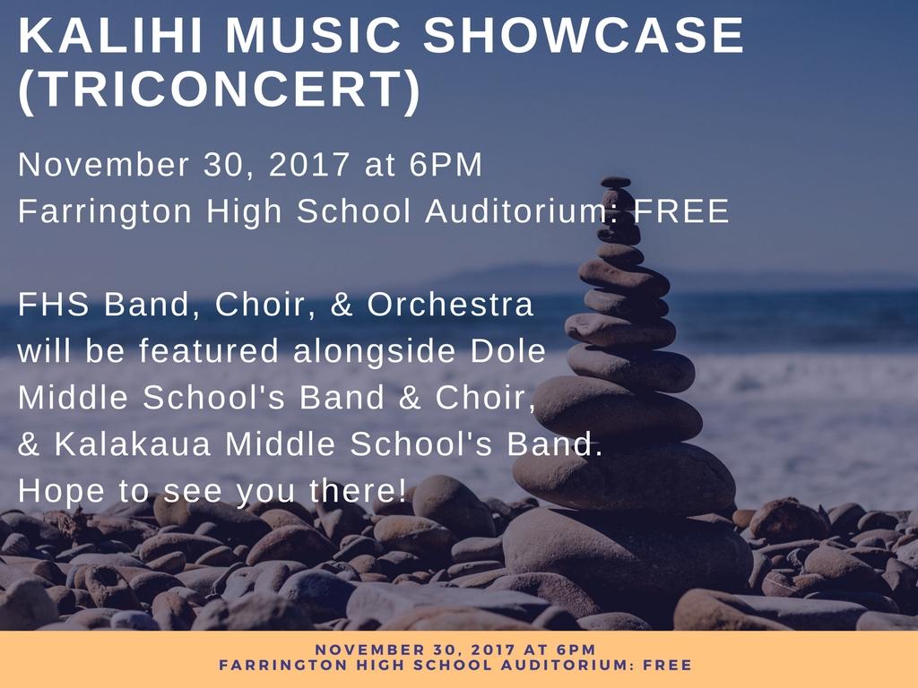 Kalihi Music Showcase WR Farrington High School 1024x768