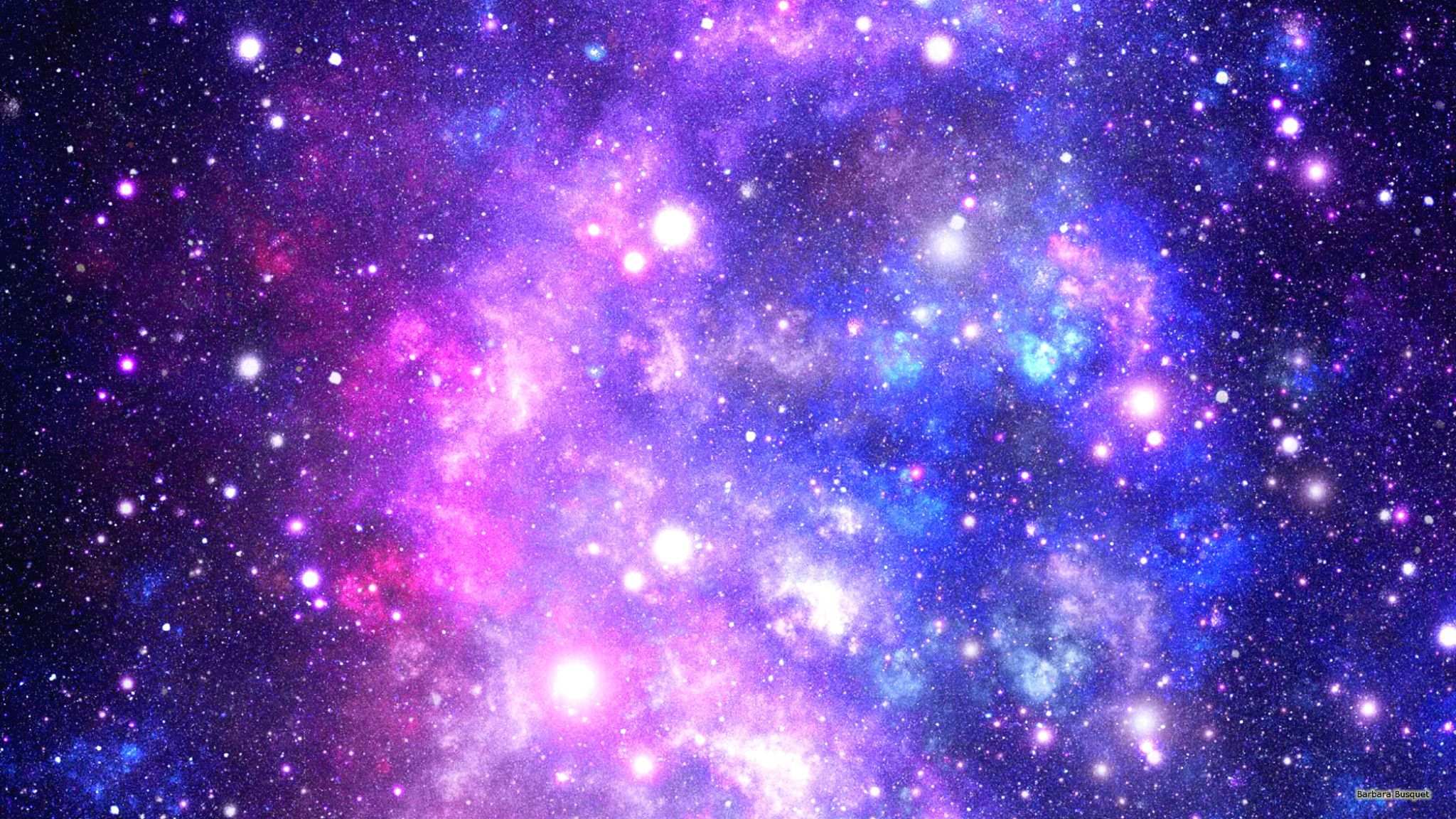 Galaxy wallpaper with colors and stars 2048x1152 Galaxy 2048x1152