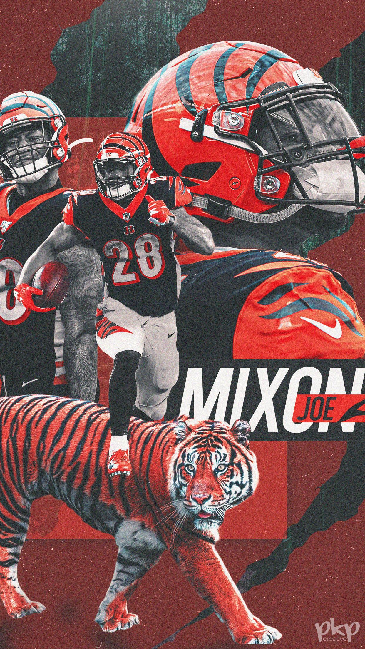 Joe Mixon Wallpaper bengals 1242x2208