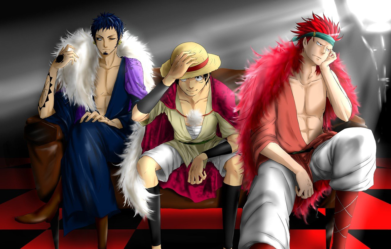 Wallpaper art guys one piece characters big jackpot images for 1332x850
